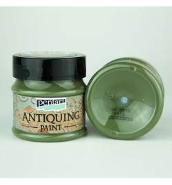 Antiquing Paint 50ml - Cream Green