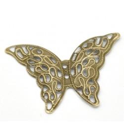 Μεταλλική πεταλούδα 41x29x1.3mm 1τεμ