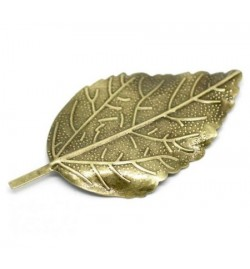 Metallic Leaf 66x33mm  1 piece