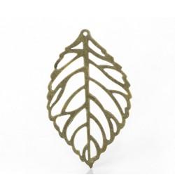Metallic Leaf 44x26mm  1 piece