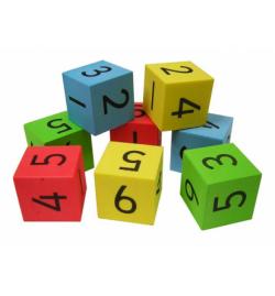 Ζάρια Αθόρυβα με Αριθμούς