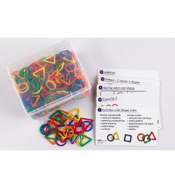 """Γεωμετρικά σχήματα """"Shape Links"""" 360pcs"""