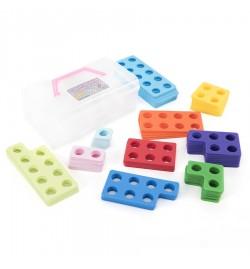 Πλαστικά αριθμητικά πλέγματα 80τεμ