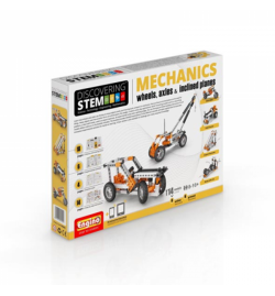 Engino STEM Mechanics: Wheels, Axles and Inclined Planes (Level 1)