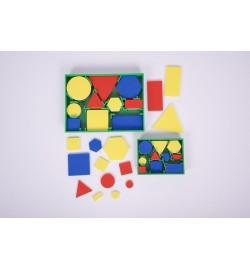 Γεωμετρικά Σχήματα (Attribute Blocks) μικρά 60pcs