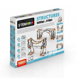 Engino STEM Structures: Buildings and Bridges