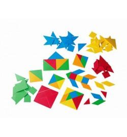 Κινέζικο Τετράγωνο (Tangram) 4σετ 28τεμάχια