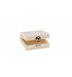 Ξύλινο Κουτί Τετράγωνο 12x12x5cm