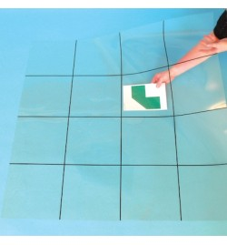 Bee-Bot® and Blue-Bot Transparent Grid Mat