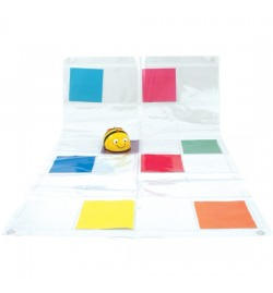 Bee-Bot® and Blue-Bot Transparent Pocket Mat