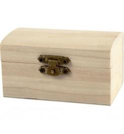 Ξύλινο κουτάκι για μπομπονιέρα 9x5.2x9cm