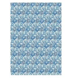 """Ριζόχαρτο A3: """"Blue Tile"""""""