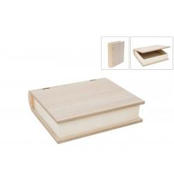 """Ξύλινο Κουτί """"Βιβλίο"""" 30x26.5x7.5cm"""