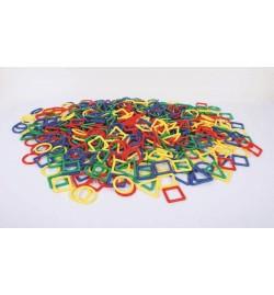 """Γεωμετρικά σχήματα """"Shape Links"""" 500pcs"""