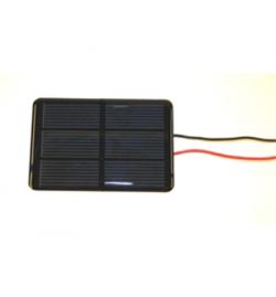 Ηλιακός Συσσωρευτής 5V 130mA Πολυκρυσταλλικός