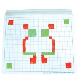 Write 'N' Wipe Board A4 - Grid